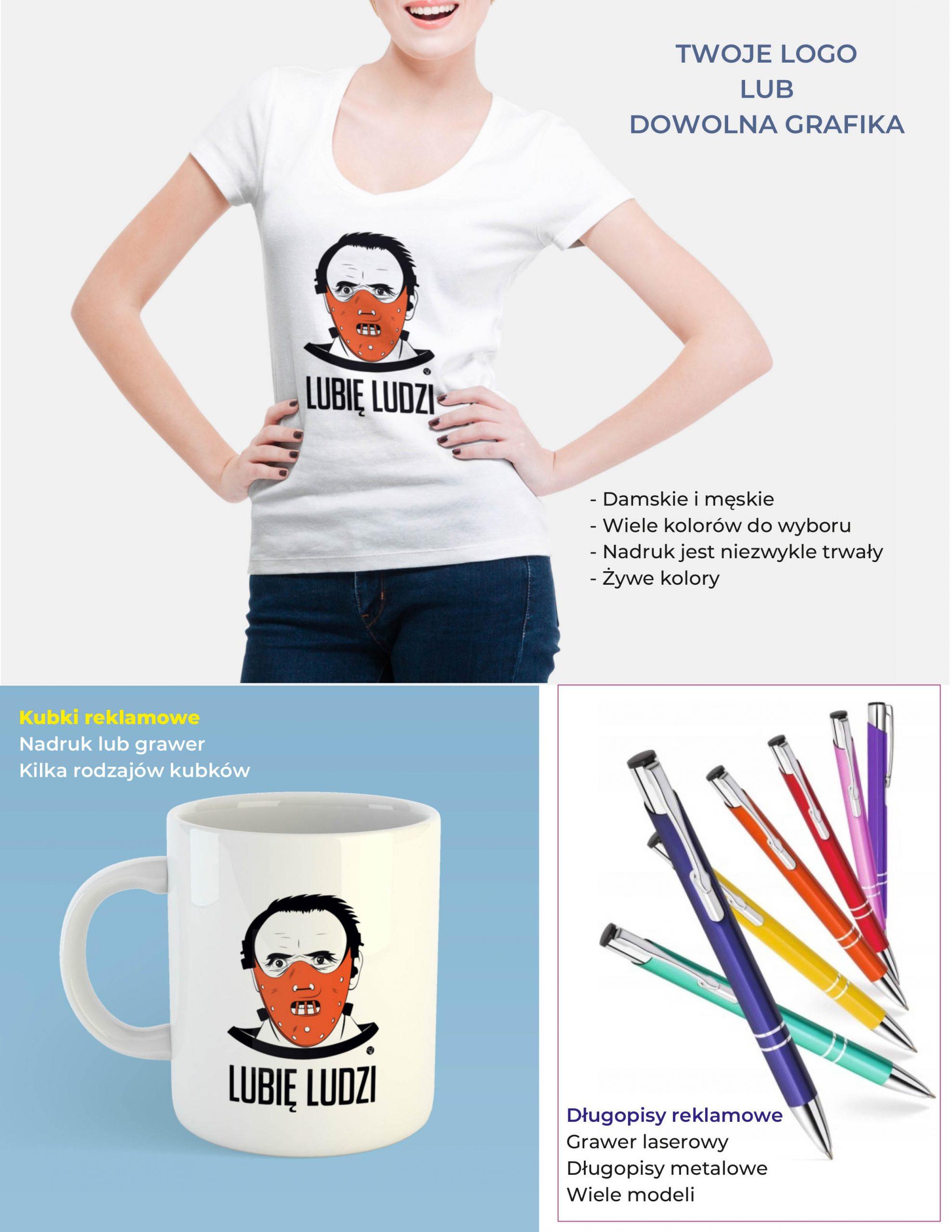 Koszulki i gadżety reklamowe